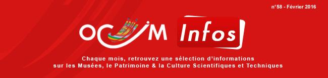 Ocim Infos F�vrier 2016